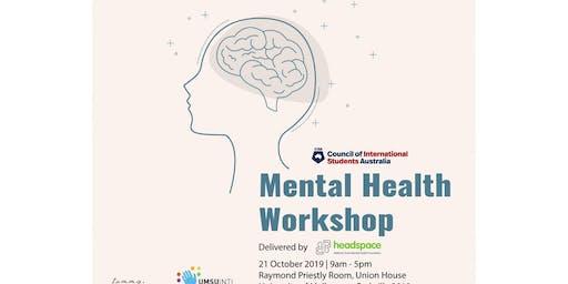 Mental Health Workshop - Parkville