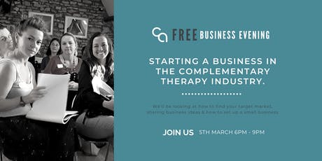 A Business in the Complementary Health Industry 5th March 2020 tickets