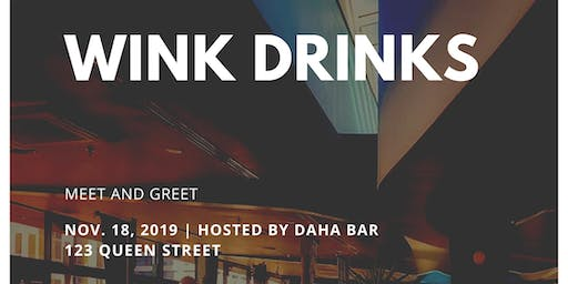 Wink Drinks - Meet and Greet