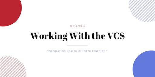 Working With the VCS: 'Population Health in North Tyneside' event