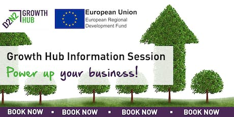 Growth Hub Information Session - Power Up Your Business tickets