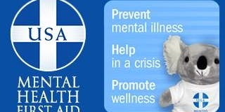 Mental Health First Aid 11.16.19