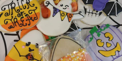 Halloween cookie party