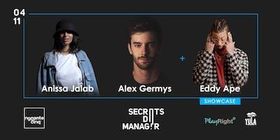 "\""Secrets de manager\"" avec Anissa Jalab (Damso) & Alex Germys (Charlotte)"