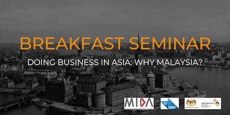 Breakfast Seminar tickets