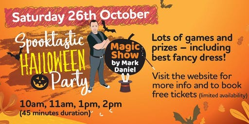 Free Kids Spooktastic Magic Show and Halloween Party