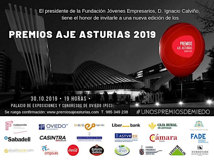Imagen de Premios AJE Asturias 2019