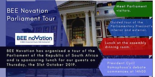 BEE Novation  Tour of Parliament