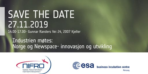 Industrien møtes: Innovasjon og utvikling i romsektoren