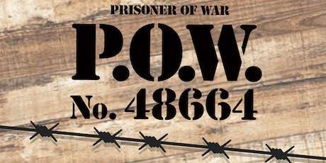 """Presentazione """"P.O.W. 48664 - Prisoner of War"""" il primo romanzo di Fabrizio Senici biglietti"""