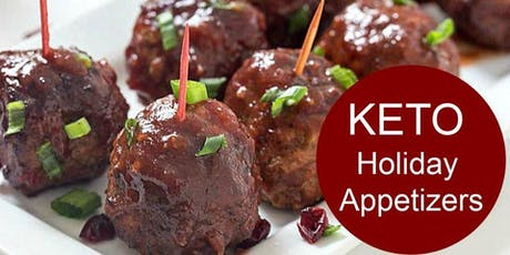 KETO Holiday Appetizers tickets