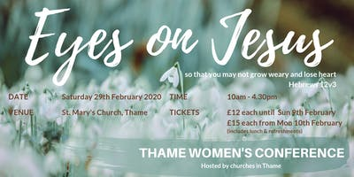 Eyes on Jesus (Thame Women's Conference)