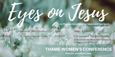 Eyes on Jesus (Thame Women's Conference) tickets