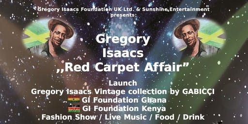 """Gregory Isaacs """"Red Carpet Affair"""""""