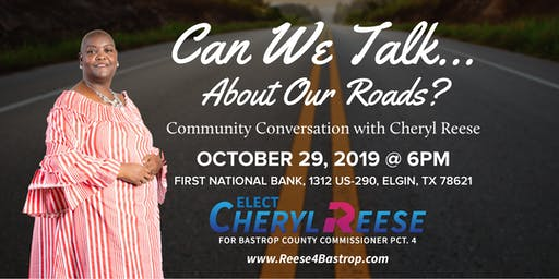 Can We Talk? - Part 1: Community Conversation with Cheryl Reese
