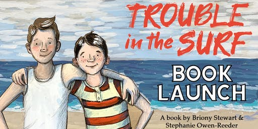Trouble in the Surf ~ Book Launch