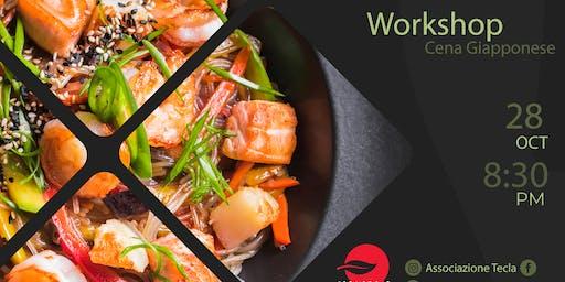 Workshop/cena giapponese