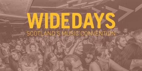 Wide Days 2020 - Scotland's Music Convention tickets