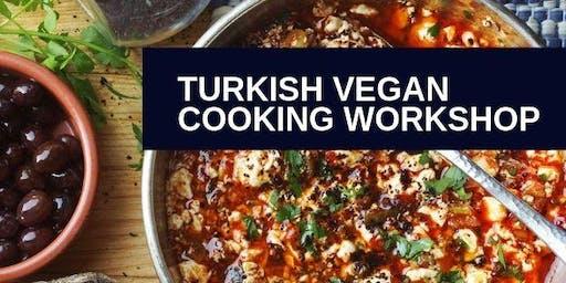 Cooking Workshop, Turkish Vegan Specialities
