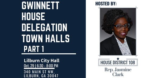 Gwinnett House Delegation Town Hall Series- Part 1