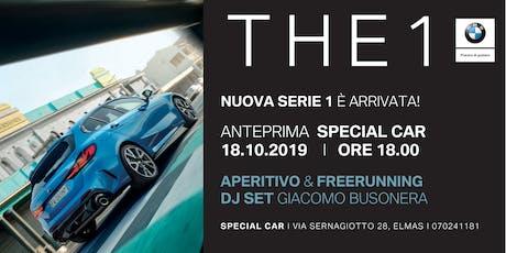 Nuova BMW Serie 1: evento di presentazione biglietti