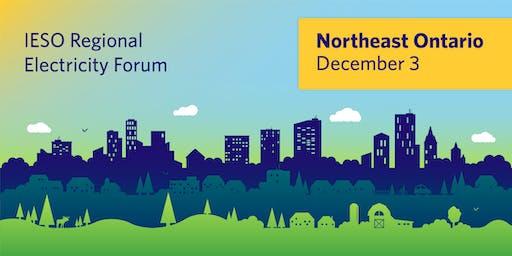 IESO Northeast Regional Electricity Forum