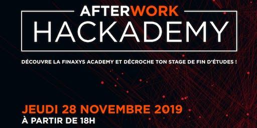 Afterwork HACKADEMY : viens décrocher ton stage de fin d'études !
