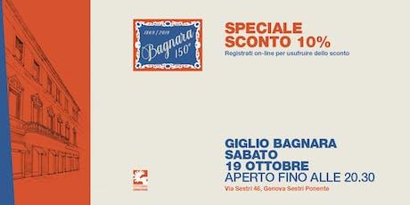 Ottobre Genovese by Giglio Bagnara: Rock, Presentazione libro e mezzari biglietti