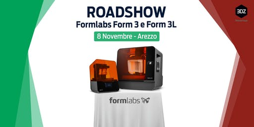 Roadshow Formlabs Form 3 e 3L - Tappa 3DZ Toscana