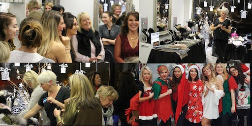 Charity Shopping and Pamper Evening
