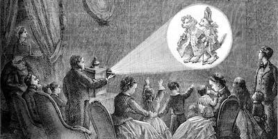 A magic lantern Christmas show at Llanthony Secunda Priory