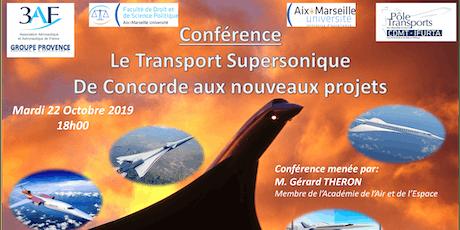 Le Transport Supersonique, de Concorde aux nouveaux projets billets