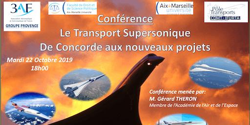 Le Transport Supersonique, de Concorde aux nouveaux projets