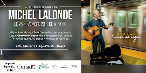 Concert de Michel Lalonde