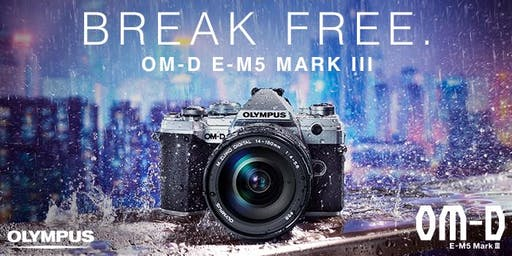 Olympus OM-D E-M5 Mark III Launch Event