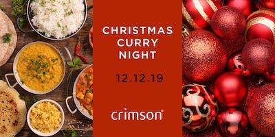 Crimson's Christmas Curry Night