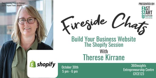 FastStart Fireside Chat - Therese Kirrane: The Shopify Session
