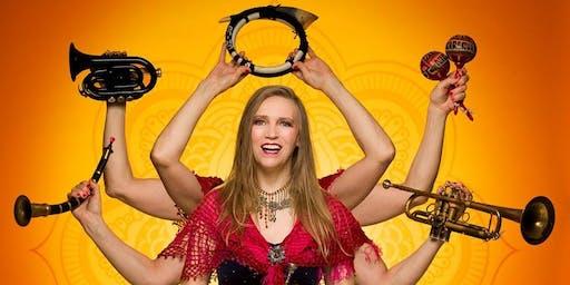 SASKIA LAROO BAND 'Trumpets Around The World'  in GRONINGEN