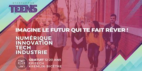 Startup For Teens Inspire - Kremlin-Bicêtre 25 Janvier tickets