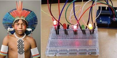 Lantern making workshop - Tribal Arduino