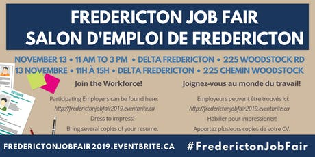 Fredericton Job Fair tickets