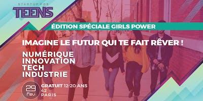 Startup For Teens Inspire (Girls power)- Paris 29 Février