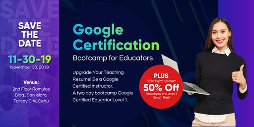 Google Certification Bootcamp for Educators