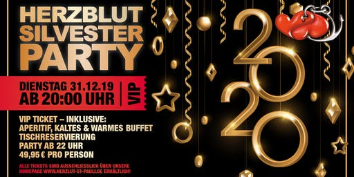 Silvesterbuffet und Party