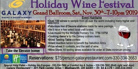 Holiday Wine Festival tickets