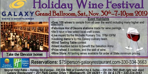 Holiday Wine Festival