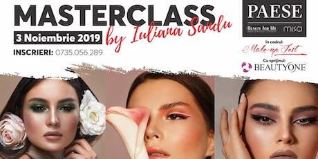 Masterclass Make-up by Iuliana Sandu tickets