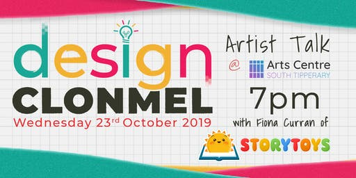 Artist Talk for Design Clonmel - StoryToys
