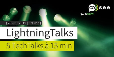 cosee LightningTalks 2019 Tickets