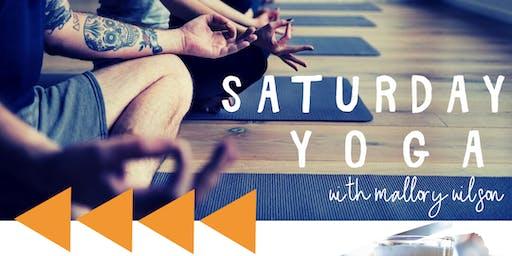 Saturday Yoga at Taproom Social